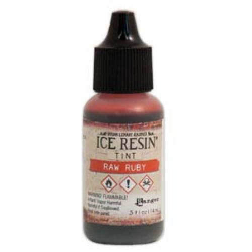 Ice Resin Tint, 0.5oz (14ml) Raw Ruby Red