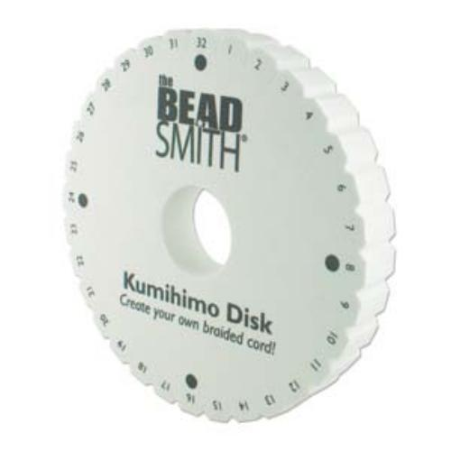 Beadsmith Kumihimo Double Density 6 inch Round Braiding Disk Disc