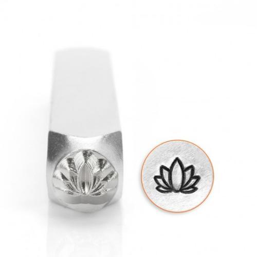 ImpressArt Lotus 6mm Metal Stamping Design Punches
