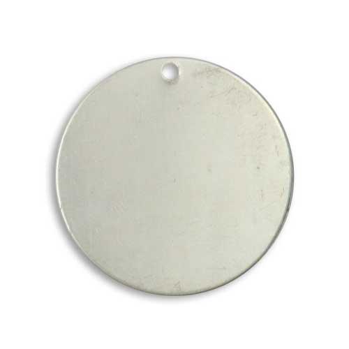 Vintaj Artisan Pewter 29mm Circle 21ga Stamping Blank