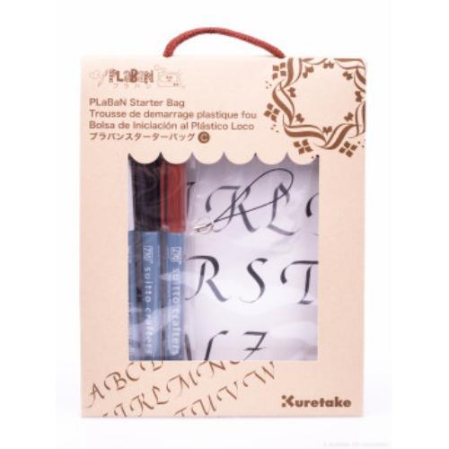 Plaban Shrink Plastic Starter Bag C, Calligraphy Designs
