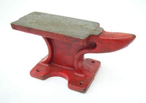 Red Horn Anvil Cast Steel Jewellers Tool Uk Supplier