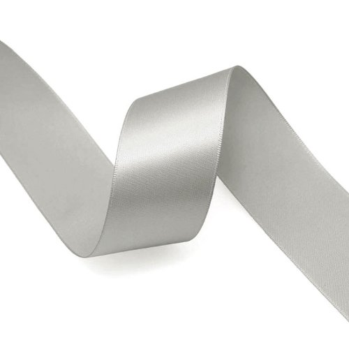 Satin Ribbon 3mm ~ Light Grey 5m