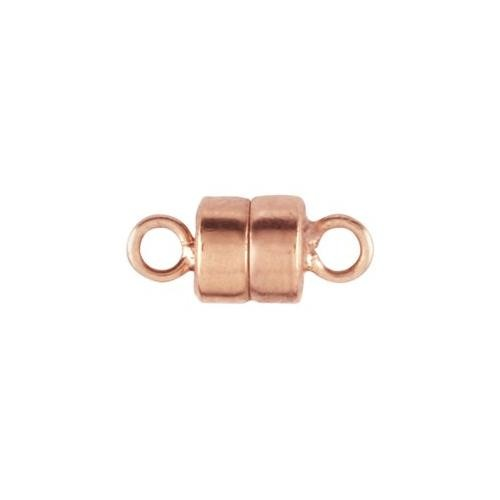14kt Rose Gold Filled 10x4.5mm Magnetic Clasp x1