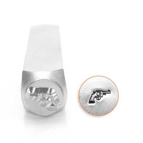 ImpressArt, Pistol Revolver 6mm Metal Stamping Design Punches