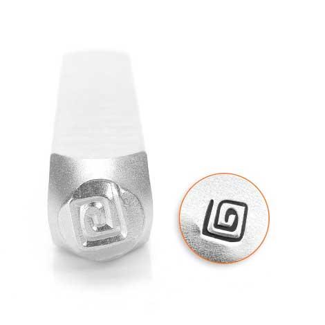 ImpressArt, Square Swirl 6mm Metal Stamping Design Punches