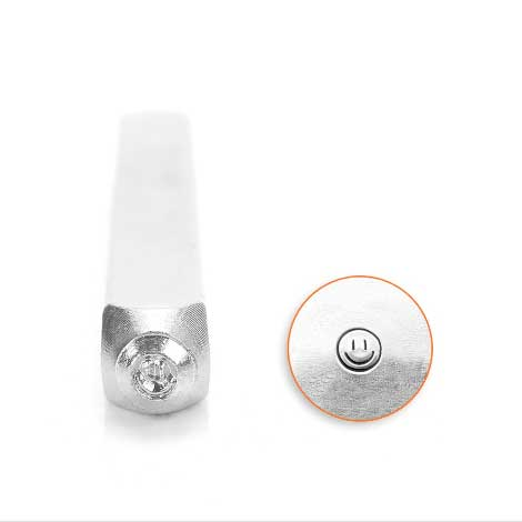 ImpressArt, Smiley Face 3mm Metal Stamping Design Punches