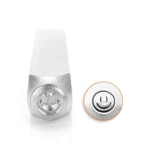 ImpressArt, Smiley Face 6mm Metal Stamping Design Punches
