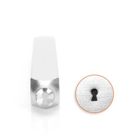ImpressArt Stamping Design Key Hole 4mm Steel Punch Tool