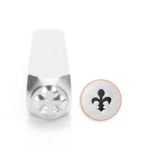 ImpressArt French Lily 6mm Metal Stamping Design Punches