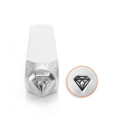ImpressArt Diamond Design 6mm Metal Stamping Design Punches
