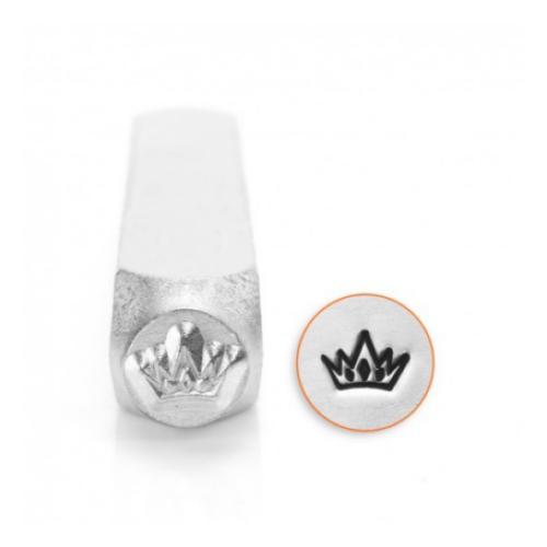 ImpressArt Crown Design 6mm Metal Stamping Design Punches