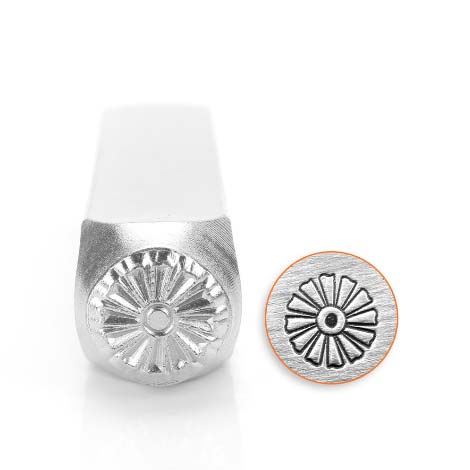 Daffodil 9.5mm Metal Stamping Design Punches - ImpressArt