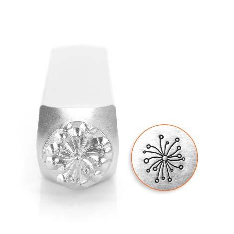 ImpressArt Dandelion 9.5mm Metal Stamping Design Punches
