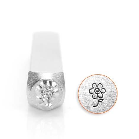 Flower 6mm Metal Stamping Design Punches - ImpressArt