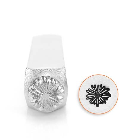 Daisy 6mm Metal Stamping Design Punches - ImpressArt