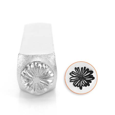Daisy 9.5mm Metal Stamping Design Punches - ImpressArt