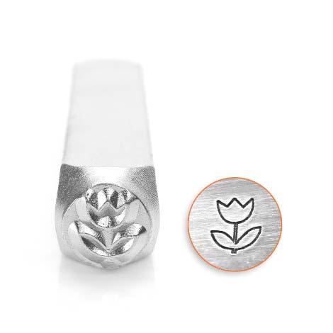 ImpressArt, Tulip 6mm Metal Stamping Design Punches