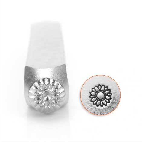ImpressArt, Sunflower 6mm Metal Stamping Design Punches