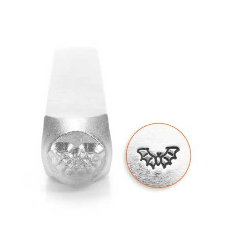 Bat 6mm Metal Stamping Design Punches - ImpressArt