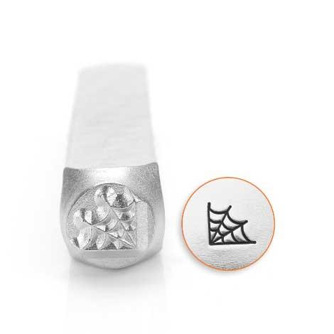 Corner Web 6mm Metal Stamping Design Punches - ImpressArt