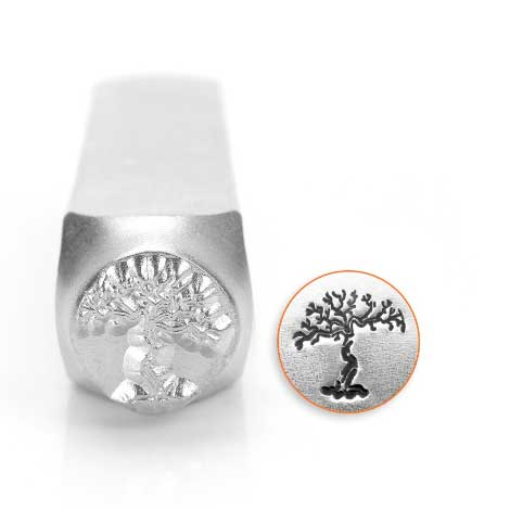 ImpressArt Dead Tree 9.5mm Metal Stamping Design Punches