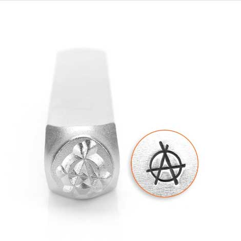 ImpressArt, Anarchy 6mm Metal Stamping Design Punches