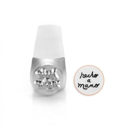 Hecho a Mano 6mm Metal Stamping Design Punches - ImpressArt