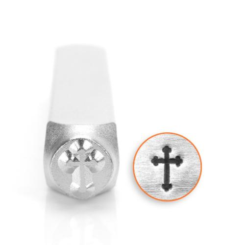 ImpressArt Rounded Cross 6mm Metal Stamping Design Punches
