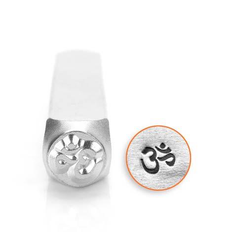 ImpressArt, Om Symbol 6mm Metal Stamping Design Punches
