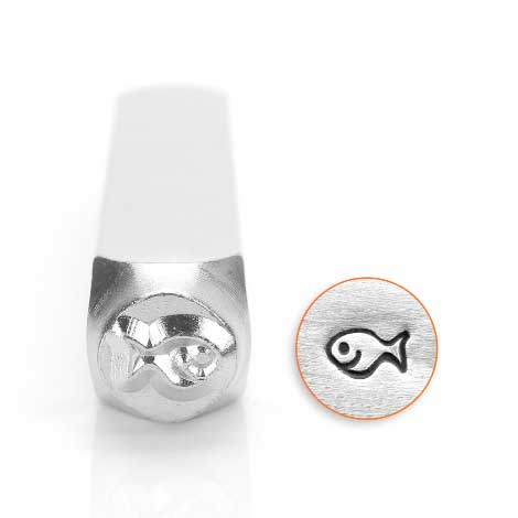 Fishy 6mm Metal Stamping Design Punches - ImpressArt
