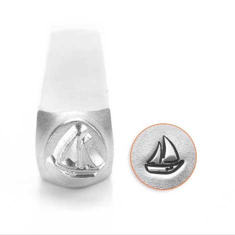 ImpressArt Sailboat 6mm Metal Stamping Design Punches