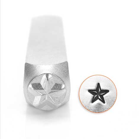 ImpressArt, Nautical Star 6mm Metal Stamping Design Punches