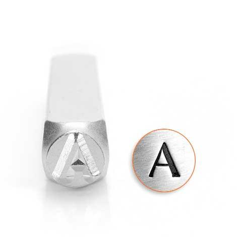 *PRE-ORDER, Special Order* Alpha Greek Letter 6mm Metal Stamping Design Punches - ImpressArt