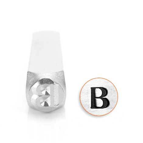 *PRE-ORDER, Special Order* Beta Greek Letter 6mm Metal Stamping Design Punches - ImpressArt