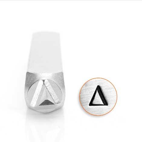 *PRE-ORDER, Special Order* Delta Greek Letter 6mm Metal Stamping Design Punches - ImpressArt