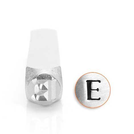 Epsilon Greek Letter 6mm Metal Stamping Design Punches - ImpressArt