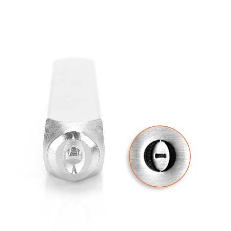 *PRE-ORDER, Special Order* Theta Greek Letter 6mm Metal Stamping Design Punches - ImpressArt