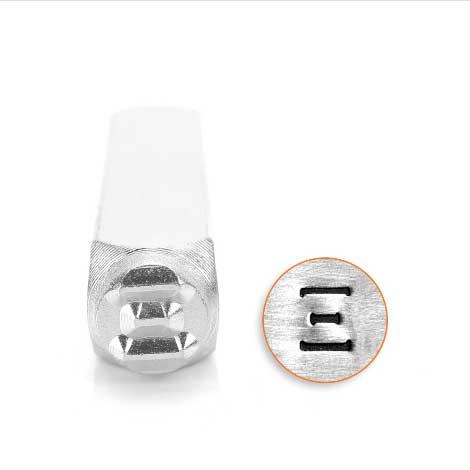 *PRE-ORDER, Special Order* Xi Greek Letter 6mm Metal Stamping Design Punches - ImpressArt