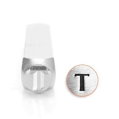 *PRE-ORDER, Special Order* Tau Greek Letter 6mm Metal Stamping Design Punches - ImpressArt