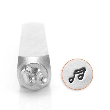 ImpressArt Music Note 6mm Metal Stamping Design Punches
