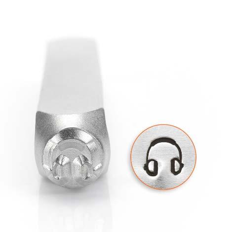 ImpressArt, Headphones 6mm Metal Stamping Design Punches