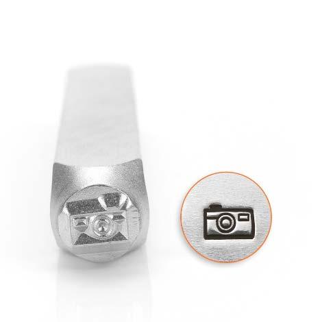 ImpressArt, Camera 6mm Metal Stamping Design Punches