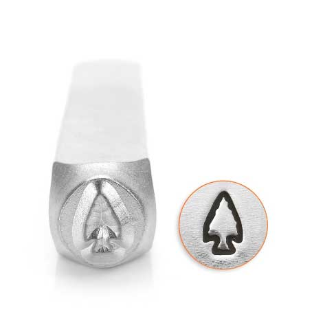 Arrowhead 6mm Metal Stamping Design Punches - ImpressArt