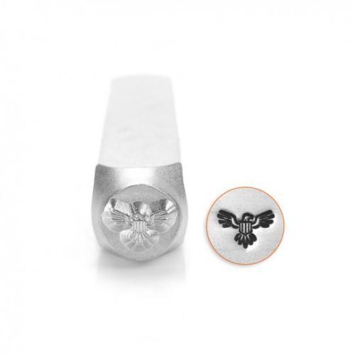 ImpressArt, Diplomatic Eagle Design 6mm Metal Stamping Design Punches