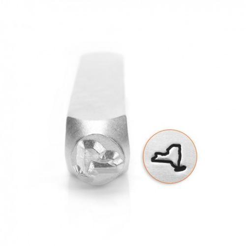 *PRE-ORDER, Special Order* ImpressArt New York Outline Design 6mm Metal Stamping Design Punches