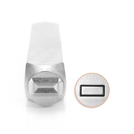 ImpressArt, Rectangle 6mm Metal Stamping Design Punches