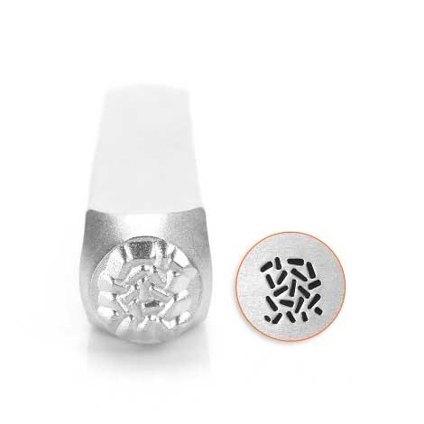 ImpressArt, Sprinkle Pattern 6mm Metal Stamping Design Punches