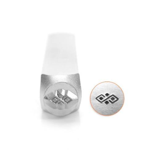 ImpressArt, Diamond Pattern Border 6mm Metal Stamping Design Punches