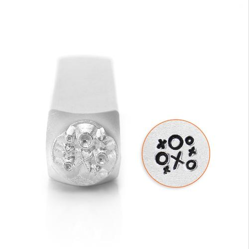 ImpressArt O&X (Noughts and Crosses) 6mm Metal Stamping Design Punches